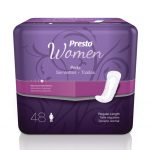 "Presto Pads for Women 12"" (192 Case)"