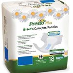 Presto Breathable Brief  Plus -Medium (80 case)